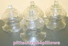 Newly Listed - Ruffled / Fluted Plain - Home Interior Votive Cups - 3 1/4 x 3 5/8 -No Grommets - Read Below - No Damage by pittsburgh4pillows on Etsy