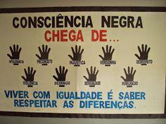 Sugestões de painéis para o dia da Consciência Negra