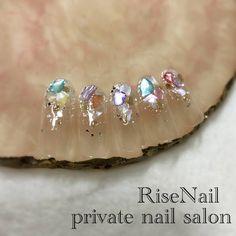 Chic Nails, Swag Nails, Nails By Lisa, Chic Nail Designs, Angel Nails, Korean Nails, Classic Nails, Summer Acrylic Nails, Japanese Nail Art