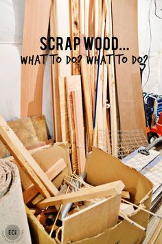 Scrap Wood DIY Project ideas