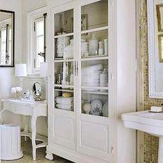 Bathroom cabinet.
