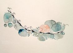 Collaboration ~ Paul Henderson (Ink) & Shell Rummel (Watercolor)