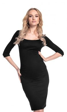 6d96e3580c9 Happy Mama Womens Maternity Stretch Jersey Dress Ruched Waist. 939p at Amazon  Women's Clothing store:
