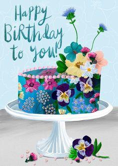 Happy Birthday Greetings Friends, Free Happy Birthday Cards, Happy Birthday Celebration, Happy Birthday Cake Images, Happy Birthday Girls, Happy Birthday Candles, Happy Birthday Messages, Birthday Wishes Flowers, Birthday Wishes For Kids
