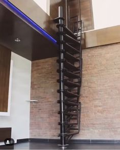Love this collapsing spiral staircase! Tiny House Stairs, House Staircase, Loft Stairs, Staircase Design, Stairway To Heaven, Interior Stairs, Home Interior Design, Escalier Art, Stair Steps