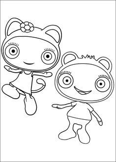 Waybuloo Kleurplaten voor kinderen. Kleurplaat en afdrukken tekenen nº 16