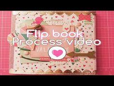 Flip Book Tutorial! EASY!! 2016 Snail Mail Swap w/a friend - YouTube