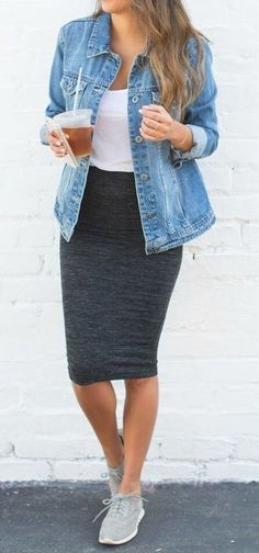 9 Gorgeous Outfits with Pencil Skirts