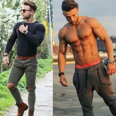 Royal Fashionsit is the best Men's Fashion Guide. Here you will find the latest trends on men's style. Get inspired with these outfits and leave your comment below. Big Men Fashion, Best Mens Fashion, Men's Fashion, Mens Fashion Website, Stylish Mens Outfits, Herren Outfit, Mens Style Guide, Muscular Men, Shirtless Men