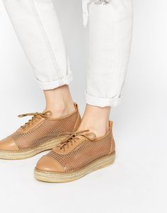 Image 1 ofTruffle Collection Dido Espadrille Flat Lace Up Shoes