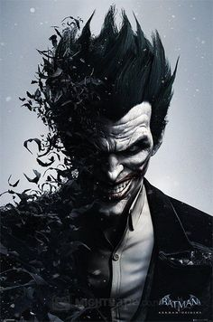 The Joker ; Batman Arkham Origins