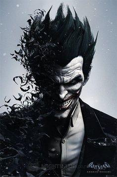 The Joker ; Batman Arkham Origins