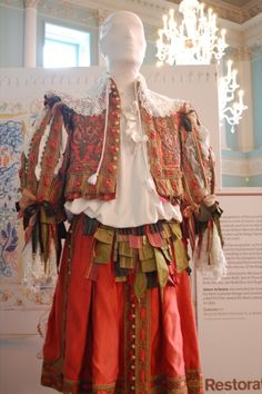 costume worn by Robert Downey Jnr as Robert Merivale in Restoration (1995)