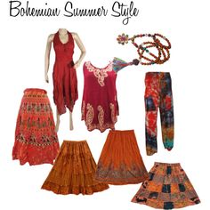"""""""Bohemian Summer Style"""" by mogulinteriordesigns on Polyvore"""