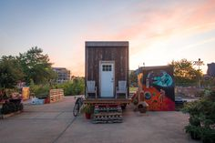 The Matchbox is a 140-square foot house that, upon completion, will be fully off-grid, zero-waste, and self-sustaining. The house combines a mix of modern design and sustainability techniques with …