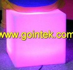Mini Bar Furniture Cabinet,Illuminated Led Decoration Colorful Seating Stool