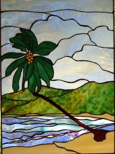 STAINED GLASS PRIVACY WINDOW HANGING