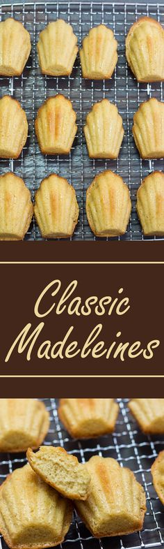 This Classic Madeleine Recipe yields a light and tender crumb with a fragrant, buttery flavor.