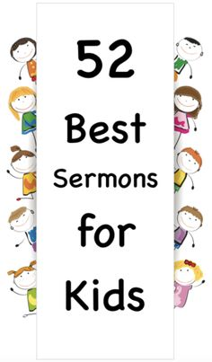 52 BEST Children's Sermons for Kids - Includes Scripts and Videos – Children's Ministry Deals Sermons For Kids, Childrens Sermons, Bible Stories For Kids, Bible Study For Kids, Verses For Kids, Children Ministry, Kids Bible, Kids Church Lessons, Youth Lessons