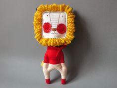 jipijipi Lion - Mr. Lion Heart 38 by Jipijipi on etsy:  http://www.etsy.com/listing/90439976/jipijipi-lion-mr-lion-heart-38