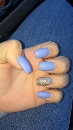 Periwinkle and gold