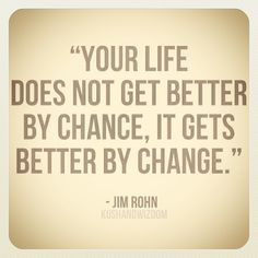 Motivation Picture #Jim #Rohn #Change something in your life today