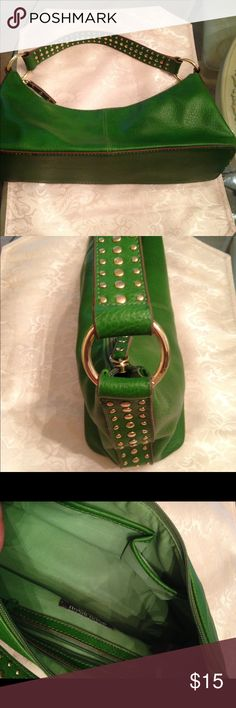 Selling this Bisou Bisou Ladies Green Handbag in my Poshmark closet! My username is: magnolia_d. #shopmycloset #poshmark #fashion #shopping #style #forsale #Bisou Bisou #Handbags