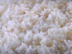 Coconut Rice..... Seriously! I made this today and I'm having a total food love affair with it! Yum yum yum!!!!!!!!!!