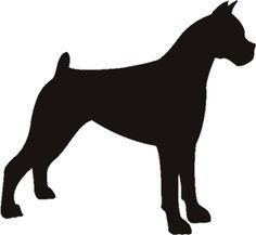 Boxer Stencil | Boxer Stencils | Dog Stencil | Dog Stencils
