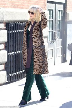 Blondie: Even her hair looked Debbie Harry-inspired, complete with choppy bangs...