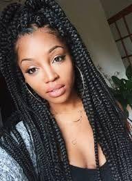 penteados com tranças afros soltas - Pesquisa Google
