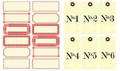 Fee main Vintage style le blog: Des étiquettes... à la folie!!!