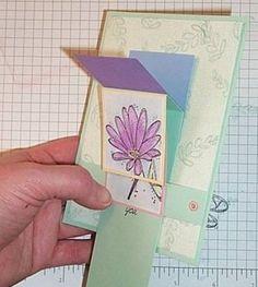 Splitcoaststampers - Waterfall Card Project Tutorial by Kathy Logan