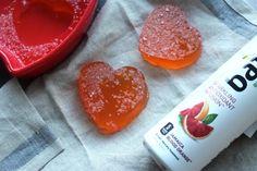 Valentine's Day Jello Heart Jigglers | www.TheWholeTara.com