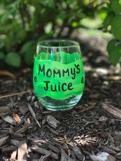Mommy's Juice hand painted stemless wine glass tumbler /Gifts for Mom/Mommy's Sippy Cup/ Best Mom wine glass/Mommy Mug/Mommy cup Wine Mom, Stemless Wine Glasses, Best Mom, Gifts For Mom, Tumbler, Juice, Hand Painted, Mugs, Mom Presents