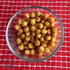 Roasted chickpeas come together with just a can of beans, spices and some oven time.
