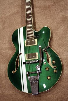 Ibanez AFS80T AFS Hollow Body Electric Guitar w/Vibrato- Racing Green