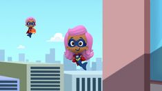 Bubble Guppies Molly And Mia, Guppy Girl And Super Baby. Nick Jr, Bubble Guppies, Guppy, Mario, Bubbles, Baby, Fictional Characters, Baby Humor, Fantasy Characters