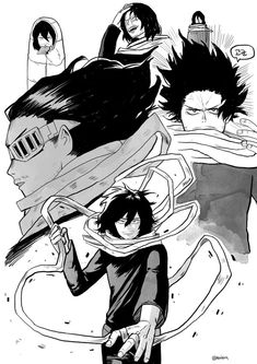 Boku no Hero Academia || Aizawa Shouta