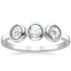 Trilogy Diamond Ring from Brilliant Earth