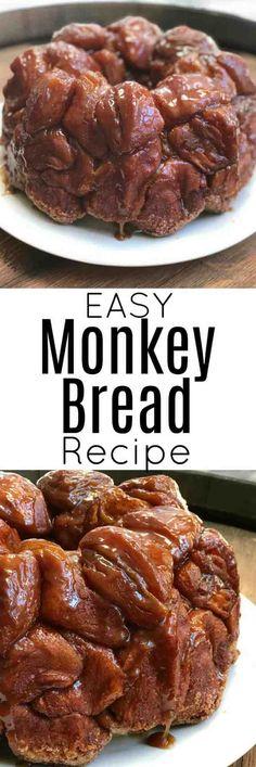 Grands Monkey Bread, Pillsbury Monkey Bread, Pilsbury Biscuit Recipes, Biscuit Dessert Recipe, Grand Biscuit Recipes, Cinnamon Roll Monkey Bread, Pillsbury Recipes, Monkey Bread Easy, Cinnamon Rolls