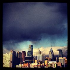 Thunderstorm over Philly