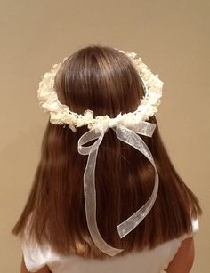1000 images about comunion on pinterest vestidos - Coronitas de flores ...