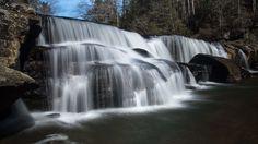 Riley Moore Falls in South Carolina.  #Waterfall