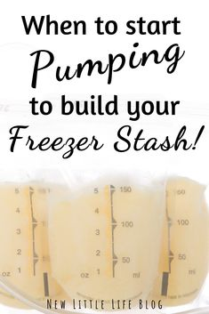 to Start Pumping Breastmilk – Building a Freezer Stash! Building a freezer stash of breastmilk while nursing by pumping with a breast pump. Advice from a doula, lactation counselor, nurse, and mom When To Start Pumping, Pumping At Work, Freezing Breastmilk, Breastmilk Storage, Storing Breastmilk In Freezer, Bottle Feeding Breastmilk, Breastfeeding Bottles, Breastfeeding And Pumping, Breastfeeding Storage