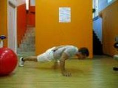 One arm pushups are nearly impossible for most people. Here is a way to progressively build the strength needed to do this exercise successfully.