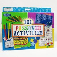 101+ Passover Activities by Rite Lite. $15.95. 101+ Passover Activities  Kit Includes: 60 Color Your Own Passover Stickers 12pc Color Your Own Activity Book 7 Foam Passover Shapes 4 Color Your Own Seder Invitations 4 White Envelopes 4 Pom-Poms 4 Crayons 3 Markers Sequins