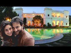 Kareena Kapoor and Saif Ali Khan Beautiful House Inside [Pataudi Palace Real Inside] Saif Ali Khan, Inside Outside, Article Design, My Dream Home, Palace, The Outsiders, House Design, Life, Articles