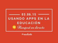 Presentación utilizada por Rosa Liarte en el Hangout en directo compartido con Gamification Club y Eduga (plataforma educativa de Colombia)