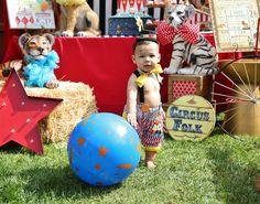 Circus  Birthday Party Ideas | Photo 1 of 36